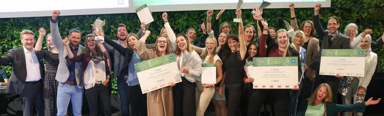 """Die Preisträgerinnen und -träger des 9. """"IV-Teacher´s Award"""""""